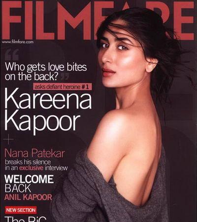 Kareeena Tattoo. Here is full view of Kareena's back without love bites…
